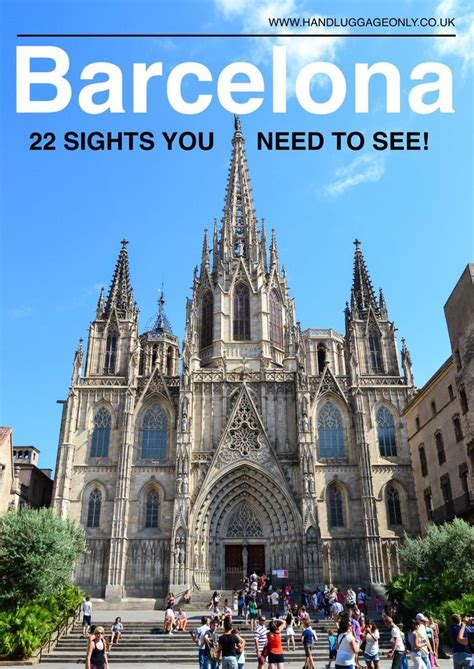 22 Best Things To Do In Barcelona, Spain | Visit barcelona ...