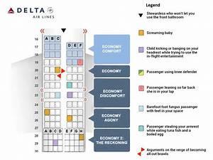 Delta U2019s New Airplane Seating Chart
