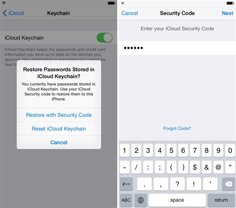 how to update icloud on iphone how to set up icloud keychain
