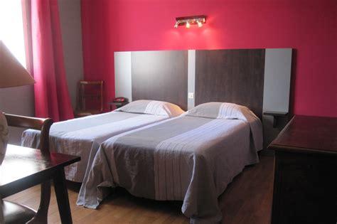 chambre lits jumeaux hôtel italia tours 37 indre et loire