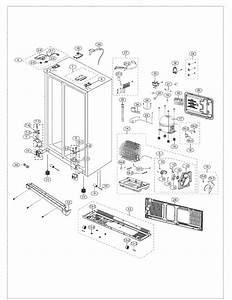 Cabinet Diagram  U0026 Parts List For Model Rs261mdpnxaa