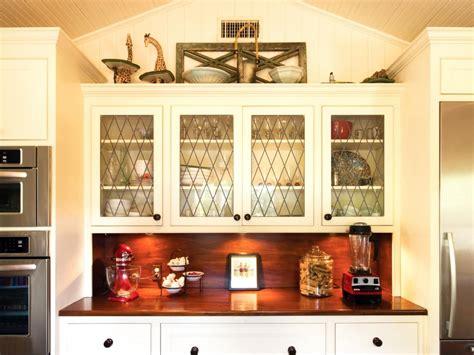Organized Kitchen Ideas - 10 ideas for decorating above kitchen cabinets hgtv