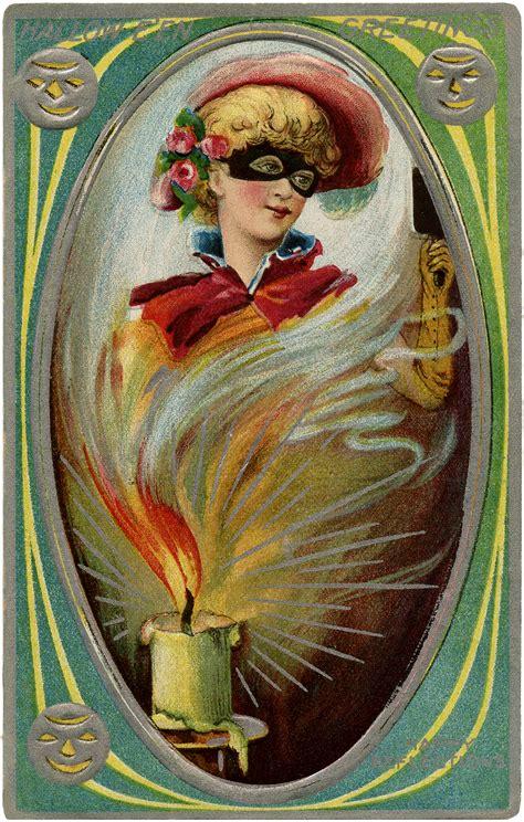 halloween mystery lady image  graphics fairy