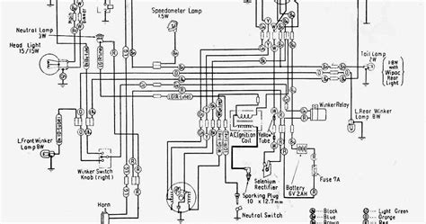 Combination Switch Wiring Diagram Honda by Wiring Diagrams And Free Manual Ebooks Honda C100 Wiring