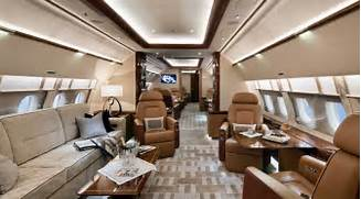 Luxury Private Jet Int...
