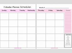 Monthly Calendar Printable Organization Tip Real Momma