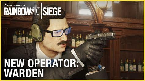 rainbow  siege  operator warden   slick james