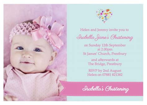 free announcement maker baptismal invitation card maker free baptism invitations