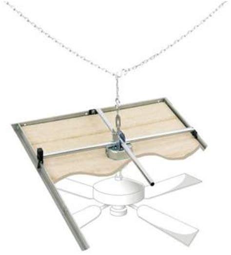 installing lights fans ventilators in suspended ceilings