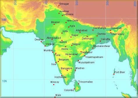 climatological information for India, Sri Lanka & Maldives