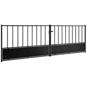 Portail En Fer Lapeyre : portail battant acier saint l ext rieur ~ Premium-room.com Idées de Décoration
