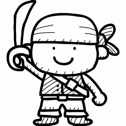 Pirate Cartoon Drawing Wall Sticker Pirates Children