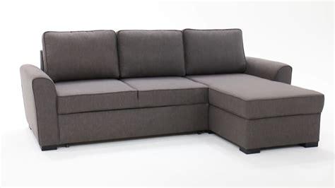 canapé d 39 angle 3 4 places convertible gris montréal