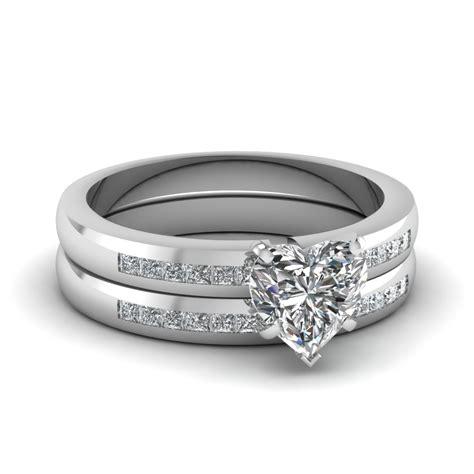 white gold heart white diamond engagement wedding ring in chanel fascinating diamonds