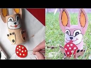 Cadeau Pour Personne Agée : lapin de p ques bricolage et d co diy youtube ~ Melissatoandfro.com Idées de Décoration