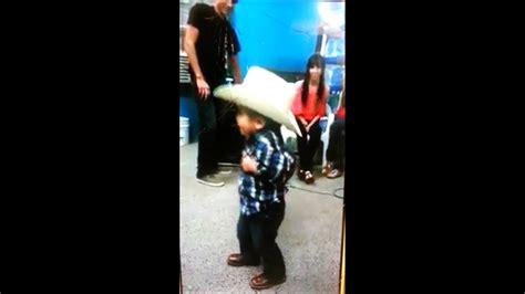 Little Mexican Boy Dancing
