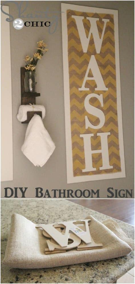 diy rustic bathroom decor ideas  give  bathroom