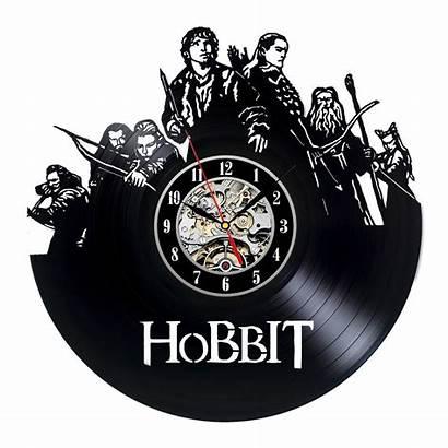 Bilbo Baggins Hobbit Clock Movie Gift Vinyl