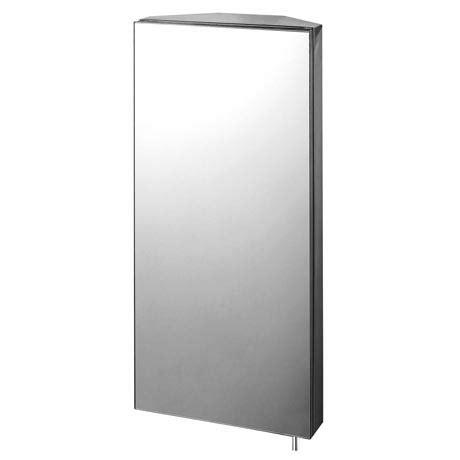 Mirrored Corner Bathroom Cabinet by Euroshowers Mirrored Corner Cabinet 15520 At