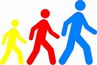 Walking Clipart Feet Clip Club Cartoon Colors