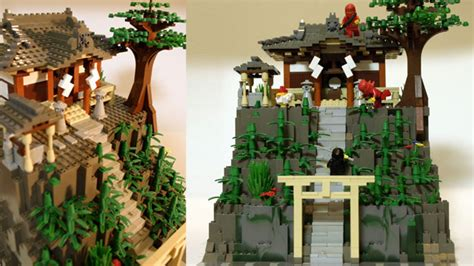 Lego Cuusoo Japanese Old Style Architecture Achieves