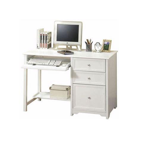 white and wood desk home decorators collection oxford white desk 6769410410