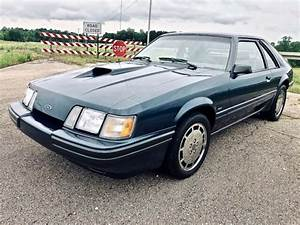 86 Ford Mustang SVO Survivor All Original Shadow Blue Paint LESS THAN 13k MILES - Classic Ford ...