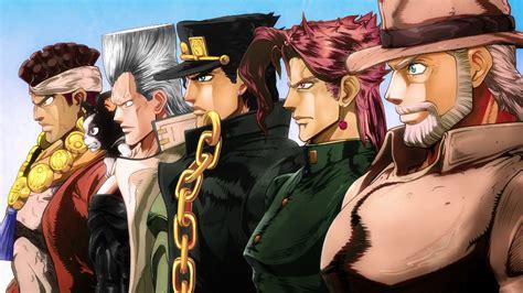Download 2560x1440 Wallpaper Anime Boys Jojos Bizarre