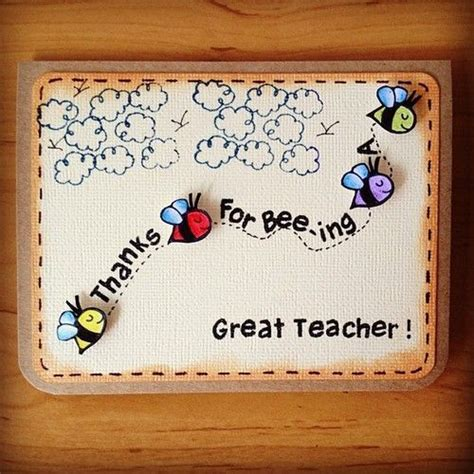 teacher day card handmade  beautiful cards
