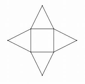 Quadratische Pyramide Berechnen : skizzieredas netz einer vierseitigen pyramide ~ Themetempest.com Abrechnung