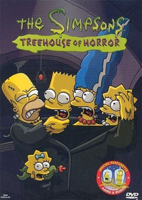 simpsons treehouse  horror dvd simpsons wiki