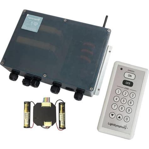 light symphony remote 4 channel starter kit with