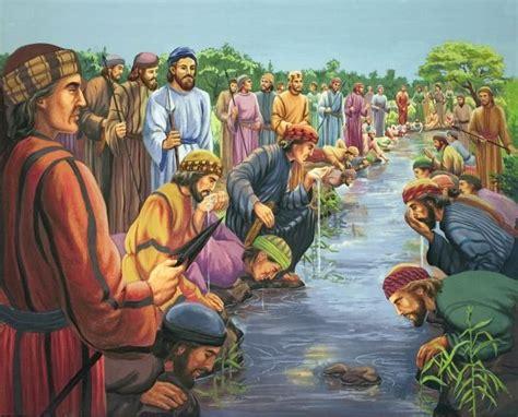 Bible Story Illustrations  Gideon Bible Story Bible