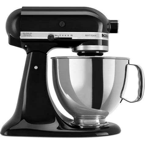 mixer kitchenaid artisan stand food onyx litre kitchen aid mixers attachments standing