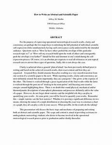 how to write abstract for research paper example