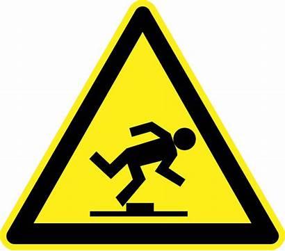 Risk Falls Business Step Warnung Vor Svg