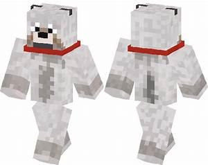 Tamed Wolf Skin Minecraft Skin Minecraft Hub