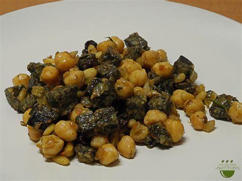 Estofat de cigrons amb biobotifarra vegetal - Receptes ...
