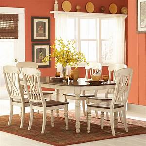 Mackenzie 7 Piece Country Style Two Tone Cherry Antique