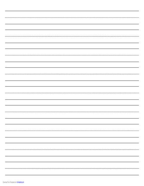 penmanship paper   lines  page  landscape