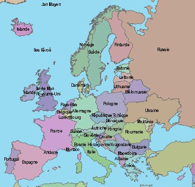 Carte Muette Europe Pays Et Capitales by Les Capitales D Europe Ondinecultureg