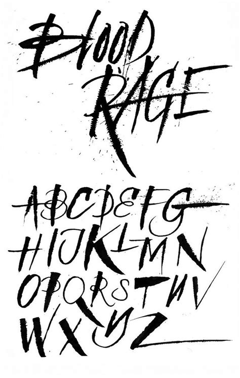 Best 25+ Tattoo lettering alphabet ideas on Pinterest   Calligraphy letters, Letter fonts and