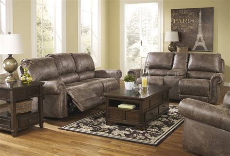Rustic Leather Loveseat by Bradley S Furniture Etc Rustic Reclining Sofas And