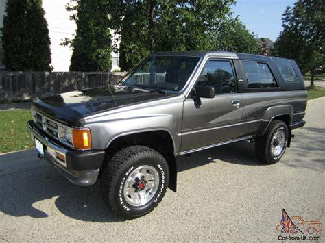 Toyota 4runner For Sale by 1989 4runner Sale Toyota