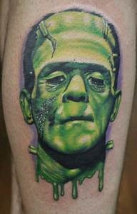 Frankenstein Tattoos Designs  Ideas And Meaning
