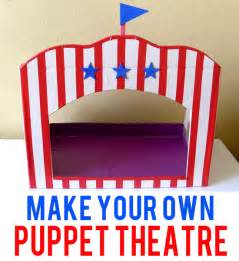 make your own puppet theatre childhood101