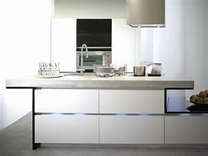 Küche In Betonoptik : k chenarbeitsplatte beton ~ Michelbontemps.com Haus und Dekorationen