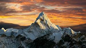 Wallpaper : nature, mountain top, Mount Everest, landscape 3840x2160 - ZajferX - 1420401 - HD ...