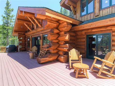 bear creek cabin breckenridge  pioneer log homes  bc