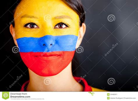 Colombian Woman Stock Image  Image 24482911